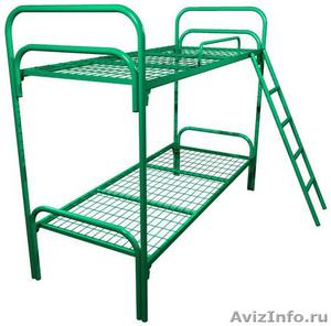 кровати металлические для больниц и турбаз, одноярусные и двухъярусные - Изображение #4, Объявление #695539