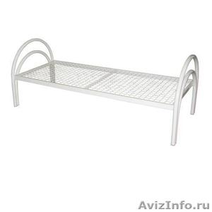кровати металлические для больниц и турбаз, одноярусные и двухъярусные - Изображение #3, Объявление #695539