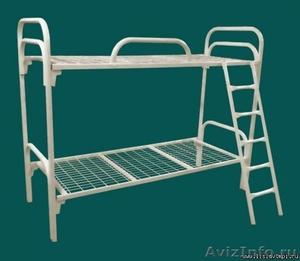 Армейские металлические кровати, кровати для рабочих, для студентов - Изображение #1, Объявление #1479377