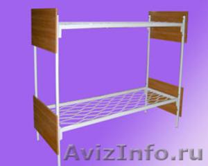 Армейские металлические кровати, кровати для рабочих, для студентов - Изображение #4, Объявление #1479377