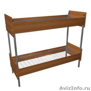 Металлические кровати для бытовок, кровати для вагончиков, кровати для лагерей. - Изображение #2, Объявление #1479382