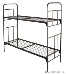 Кровати металлические для времянок, кровати для бытовок, кровати железные оптом. - Изображение #3, Объявление #1479542