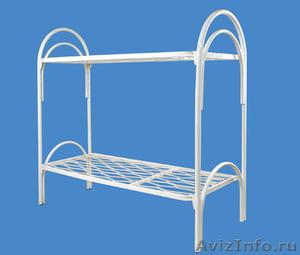 Кровати металлические для времянок, кровати для бытовок, кровати железные оптом. - Изображение #4, Объявление #1479542