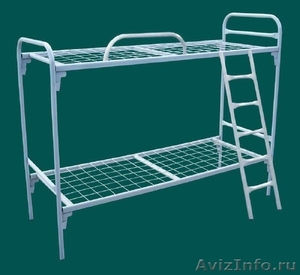 Кровати металлические для времянок, кровати для бытовок, кровати железные оптом. - Изображение #5, Объявление #1479542