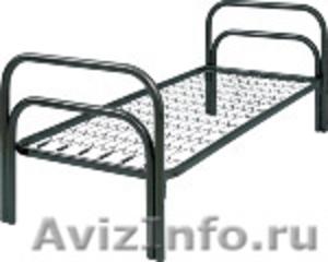 Кровати металлические для времянок, кровати для бытовок, кровати железные оптом. - Изображение #2, Объявление #1479542