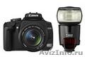 Сanon 450D Kit  + Canon 580EX II