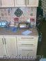 Кухня(БЕЖЕВАЯ,  С точечной подсветкой)