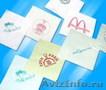 Нанесение логотипов на салфетки