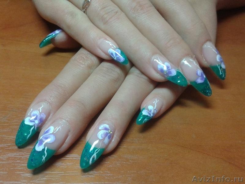 Наращивание ногтей недорого в иркутске