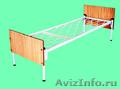 кровати металлические для больниц и турбаз, одноярусные и двухъярусные - Изображение #5, Объявление #695539