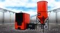 Котел водогрейный газогенераторный