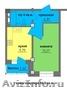 Квартира 34/14/10 кв.м. в новостройке. Новый жилой комплекс «Иркутский дворик -2 - Изображение #8, Объявление #1527648
